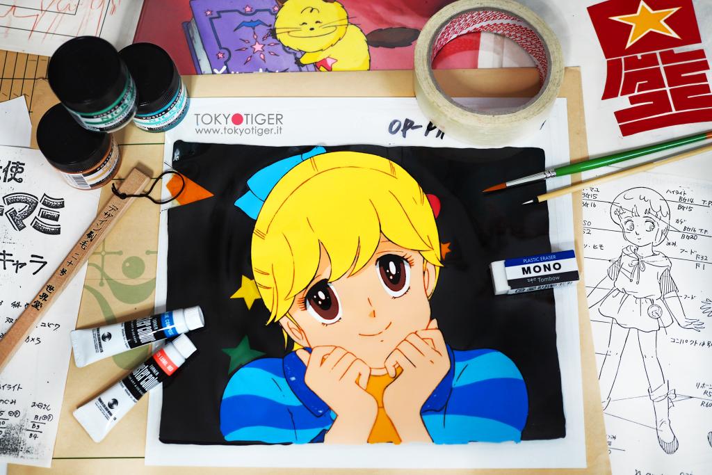 kiss-me-licia, animation-cel,japan-animation, cel,愛してナイト ,愛してナイトのセル画、animation-cel