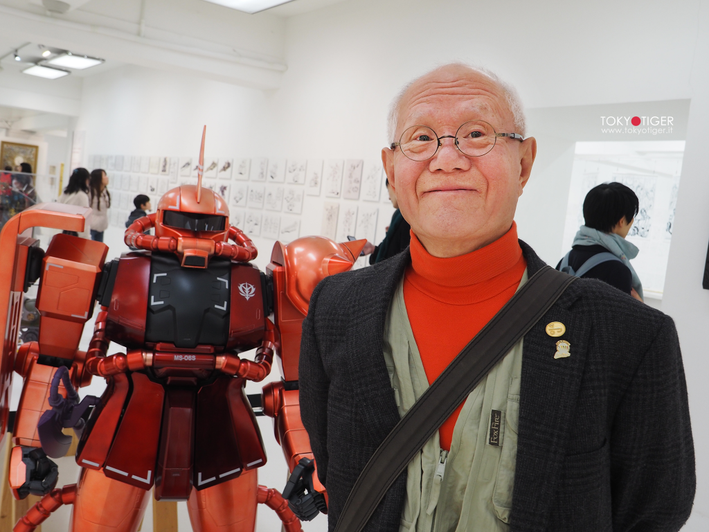 Tetsuya-Chiba, Gundam,