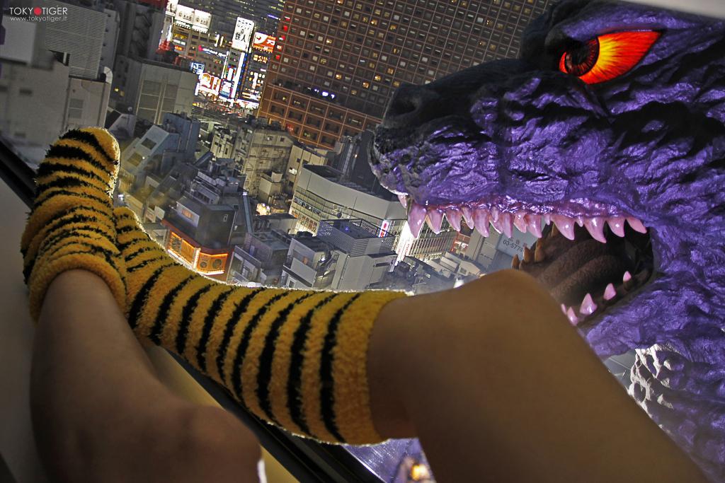 Godzilla/ Shinjuku/ Tokyotiger/Franca Zoli/i love Shinjuku/Gracery Hotel/ I love Shinjuku, I love Tokyo/